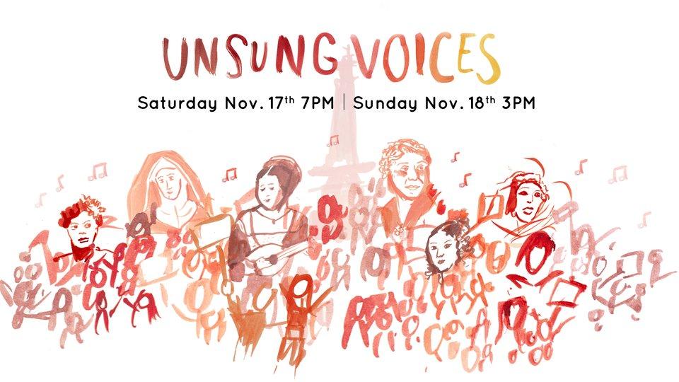 Unsung Voices: Fall 2018 Concert